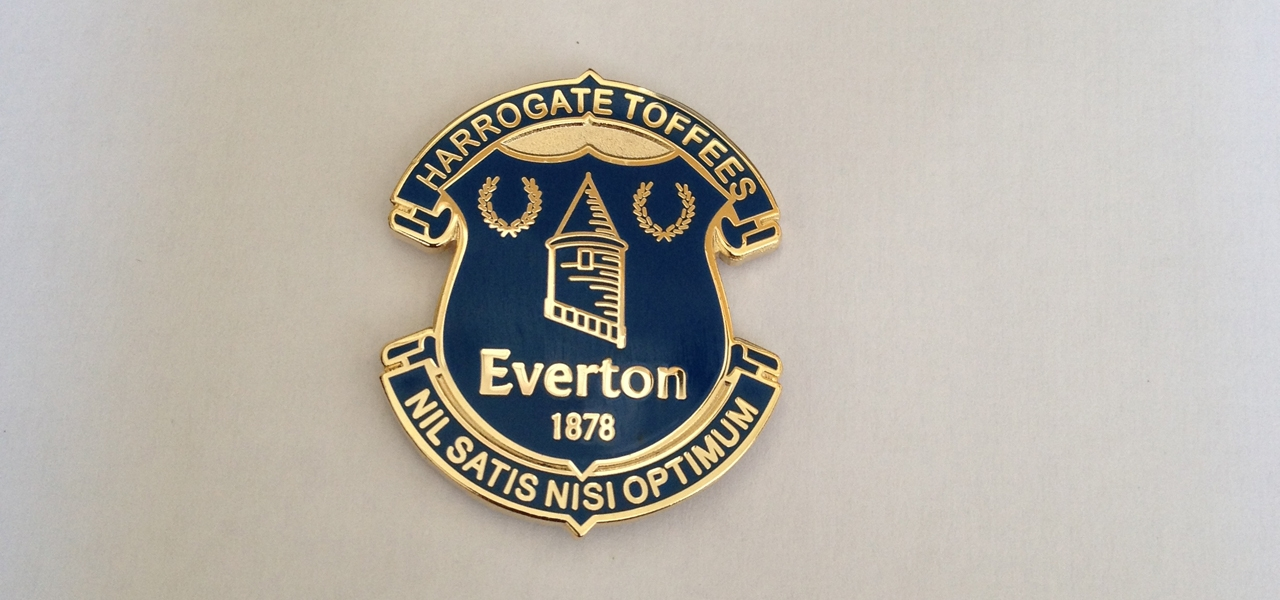 Harrogate Toffees Badge